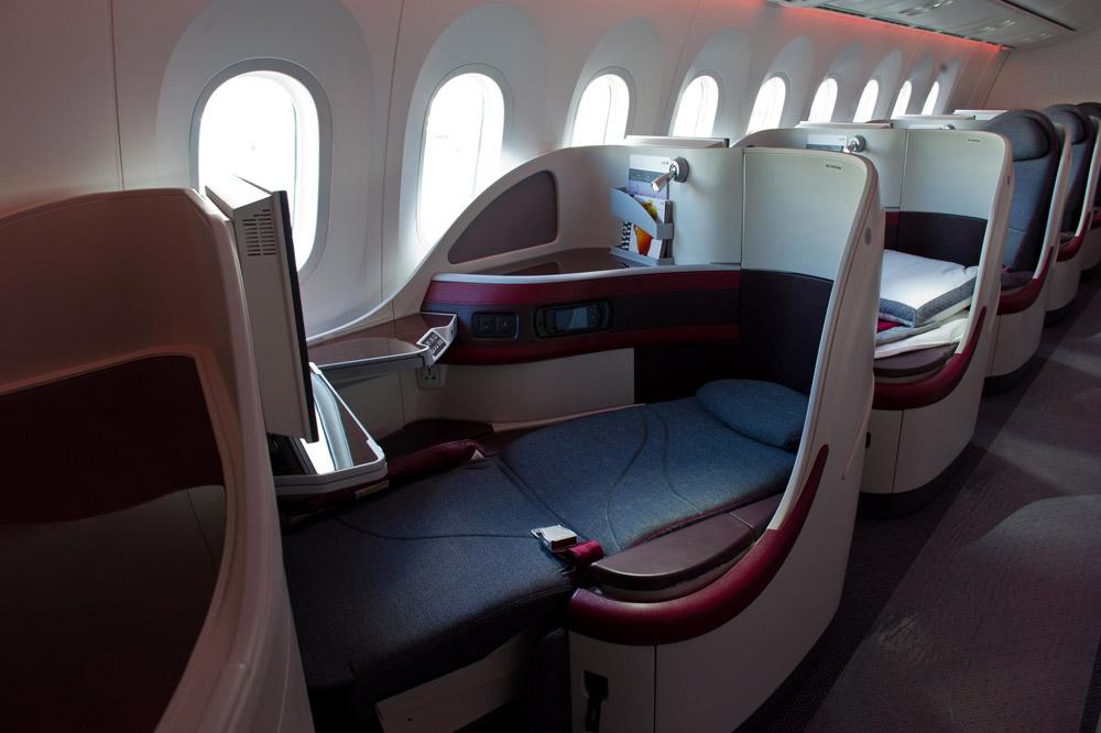 Qatar Airways поставит на рейсы в Киев лайнер мечты Boeing 787