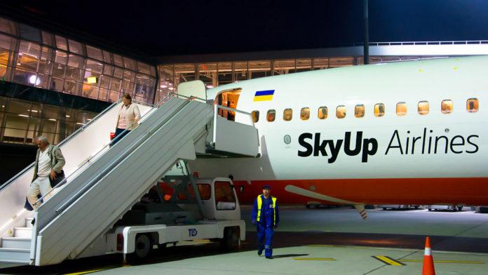 SkyUp увеличил норму перевозки ручной клади